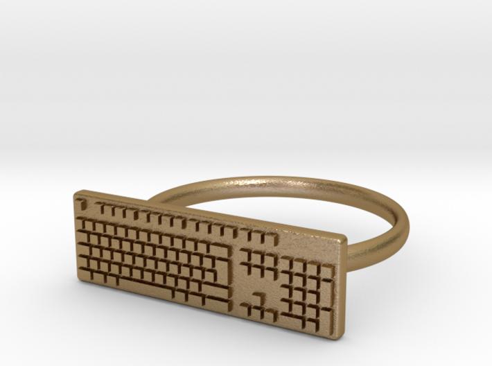 Keyboard Ring US5 3d printed