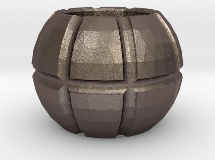 Beard Bead Globe Shape 3d printed