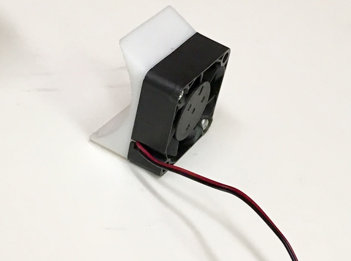 Universal 30mm Fan Housing for Touring Cars 3d printed