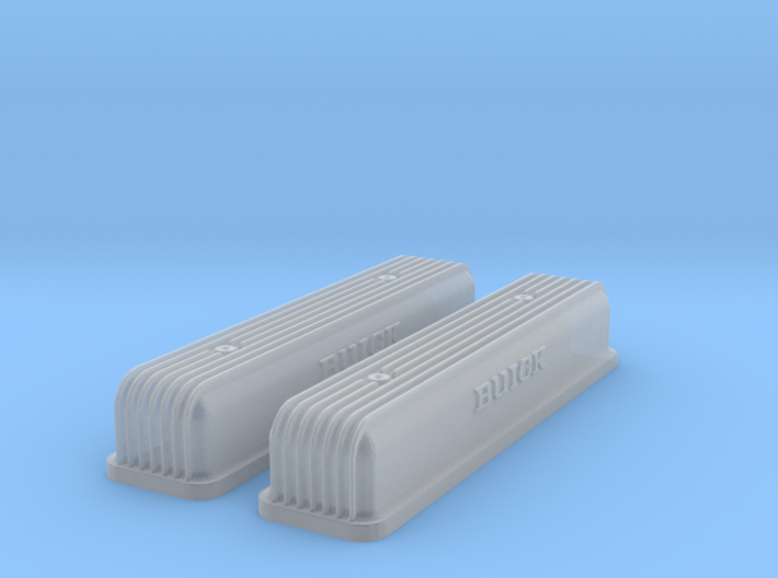 1/43 Buick Script Nailhead Valve Covers 3d printed