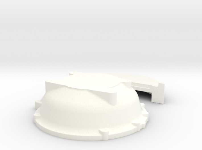 1/8 Buick Nailhead Bellhousing For Muncie Trans 3d printed