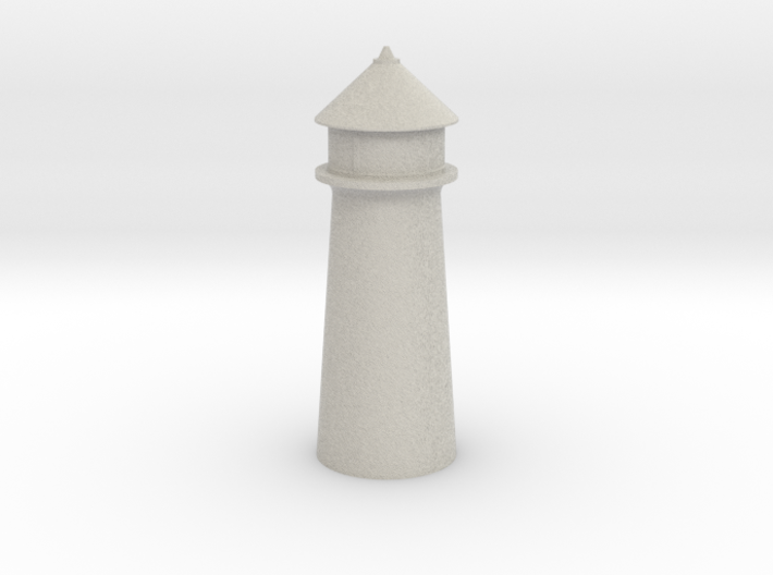 Lighthouse Pastel Gray 3d printed Lighthouse Pastel Gray