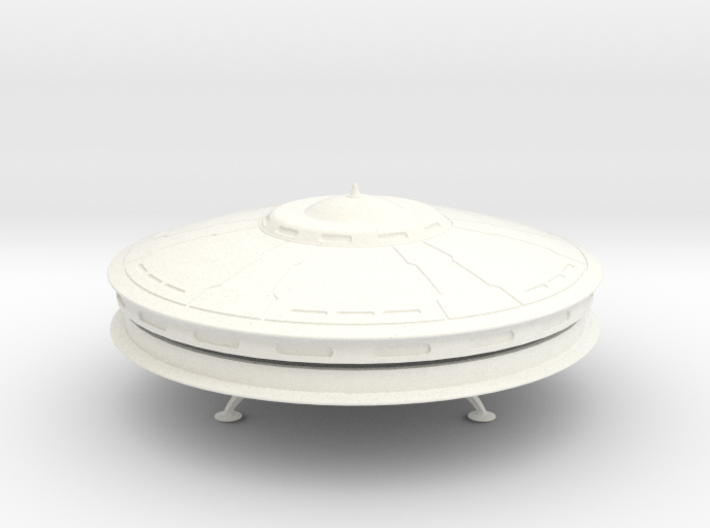 Rachel Nevada Saucer model (5 in. Dia.) 3d printed