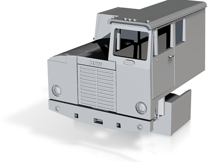 1/87th Kenworth CBE (Cab Beside Engine) Sleeper ca 3d printed