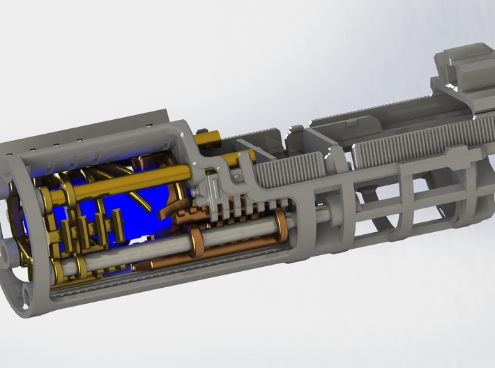 Graflex2.0 - Knight Chassis Variant 2 - Part2 3d printed