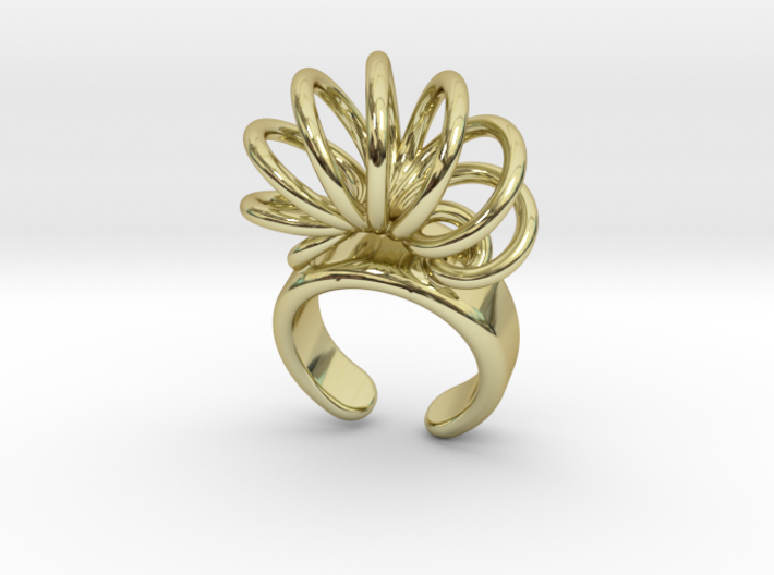 Adjustable Ring 3d printed