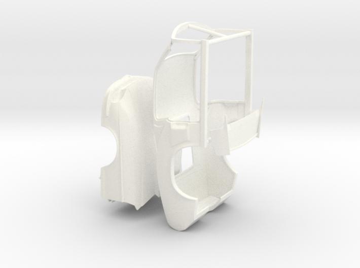 1/25 67 Pro Mod Mustang Snorkel Detached 3d printed