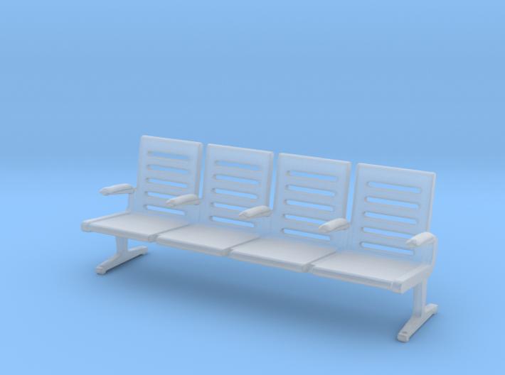 Modern Seat - OO Scale 3d printed