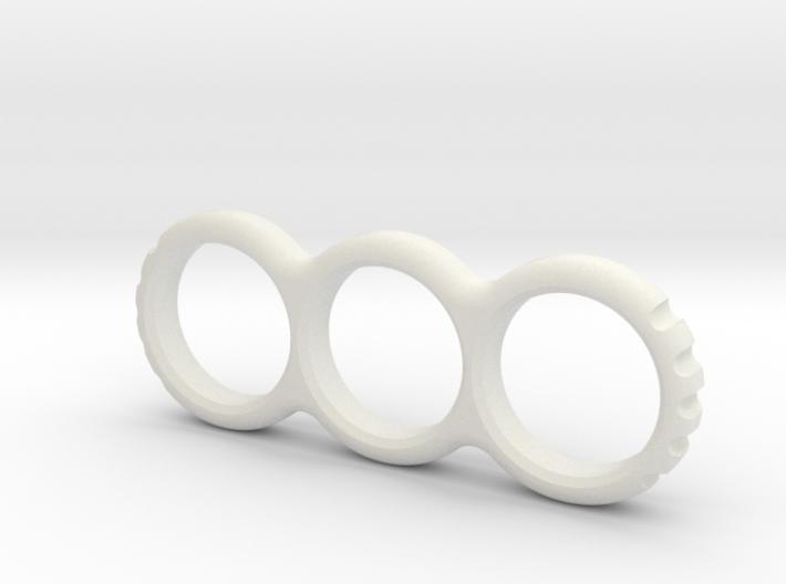 Hand EDC/Fidget Spinner Mk.II 80mm 3d printed