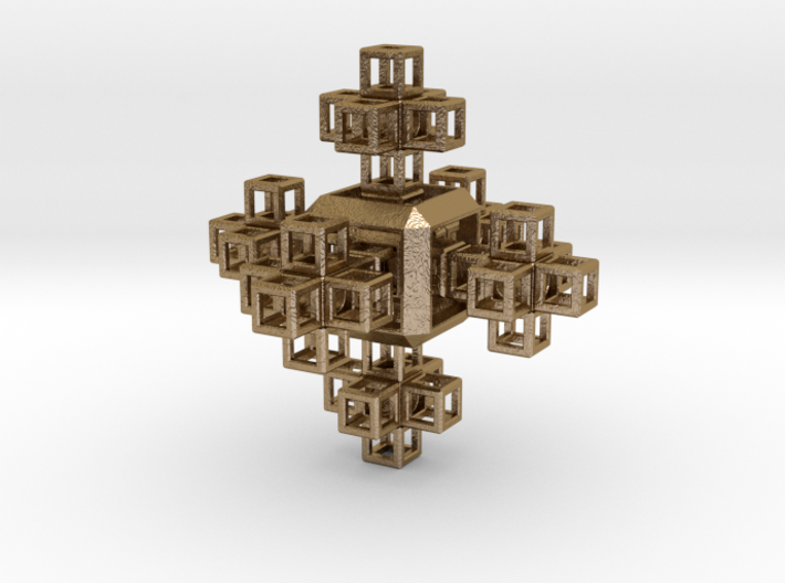 SCULPTURE COLLECTION 6 Crosses 1 HyperCube 3d printed