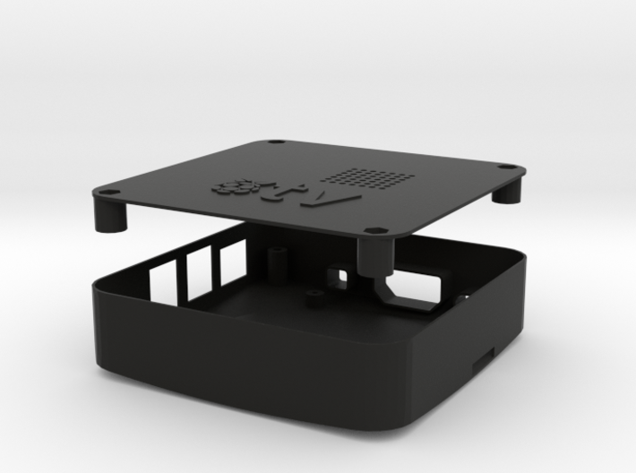 Case RAspiTV 3d printed