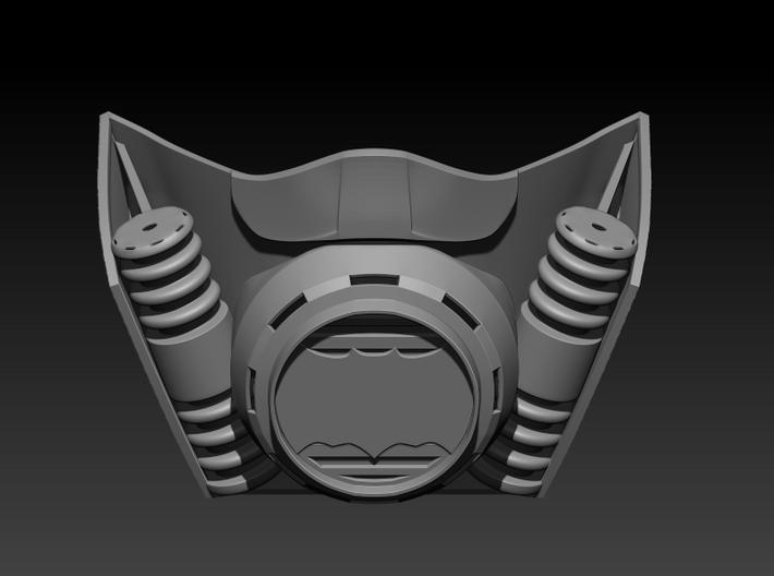 Batman Rebreather  3d printed
