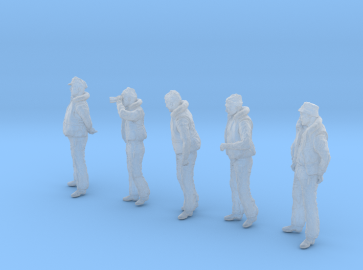 1-35 Merchant Navy Crew Set 2-1 3d printed