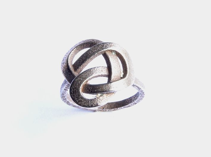 Infinity Love Ring (From $13) 3d printed Stainless Steel Ring Celtic
