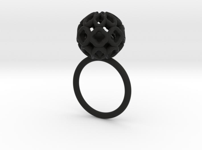 Tarzan-ring(ag)-size52 3d printed
