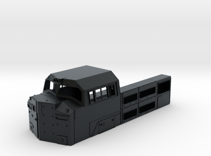 SD70ACe BB Cab 1:87 3d printed
