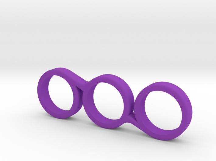 The Vyolet - Fidget Spinner - EDC 3d printed