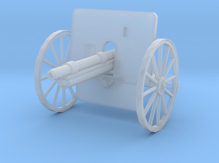 EQ24 Ehrhardt 7.5cm M1901 Field Gun (1/48) 3d printed