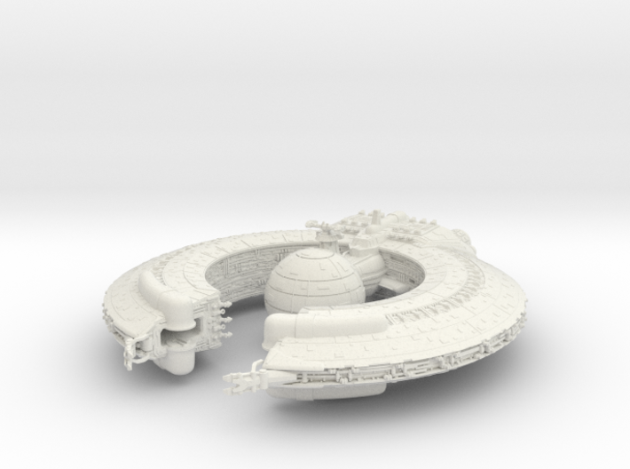 (Armada) Lucrehulk Battleship 3d printed