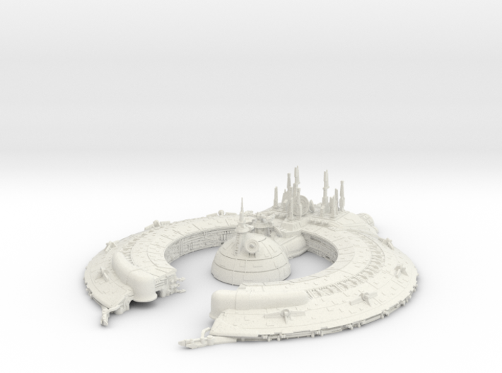 (Armada) Lucrehulk Droid Control Ship JUST THE TO 3d printed