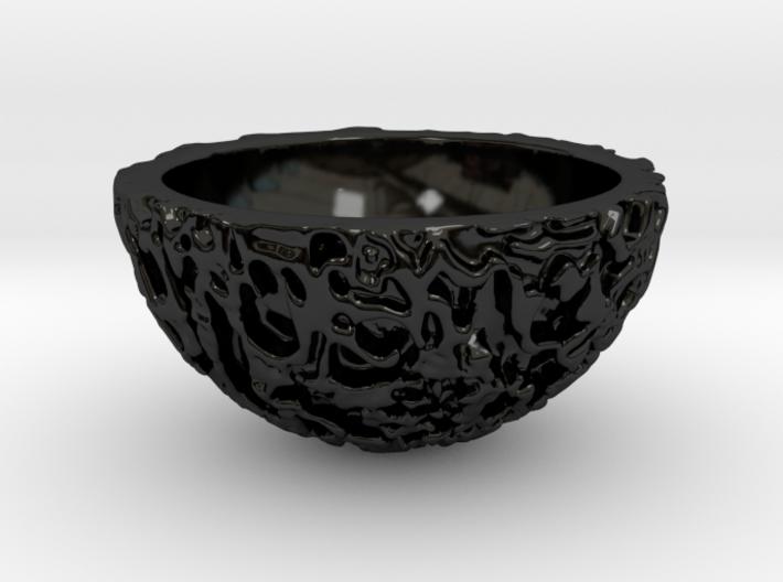Galaxy Porcelain Pot (12 cm) 3d printed
