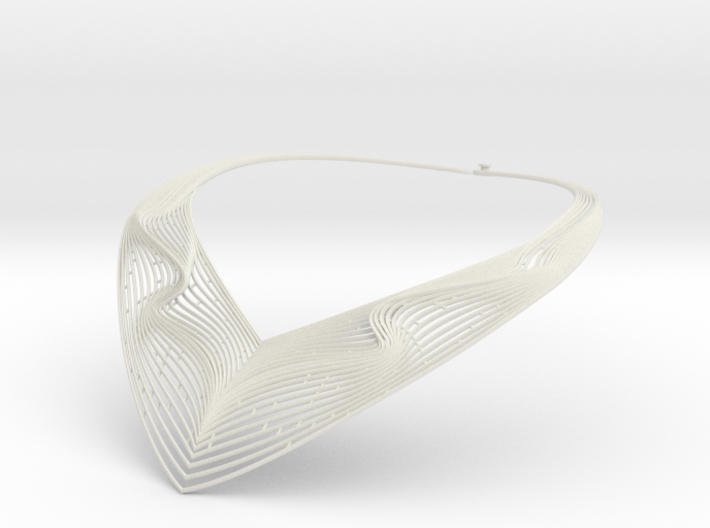 SonoFlow.A necklace 3d printed