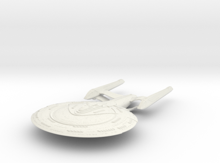 New Haven Class HvyCruiser 3d printed