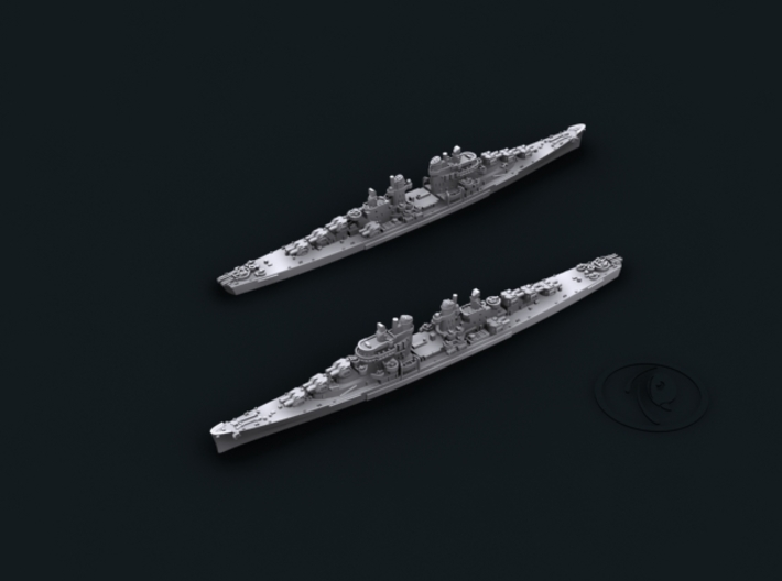 1/3000 USN Atlanta (half-class;4 ships) CLs 3d printed CL53 San Diego [1944]