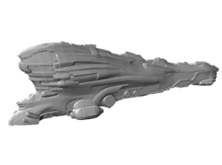 Eve online Erebus ship Titan 13cm spaceship 3d printed