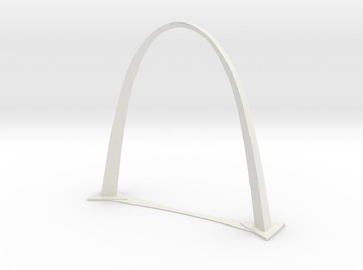 St. Louis Gateway Arch 3d printed