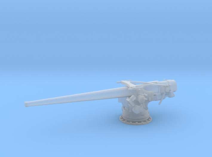 1/96 USN 5''/ 51 Cal. Deck Gun 3d printed