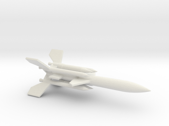 1/200 Scale UK Bloodhound SA Missile 3d printed