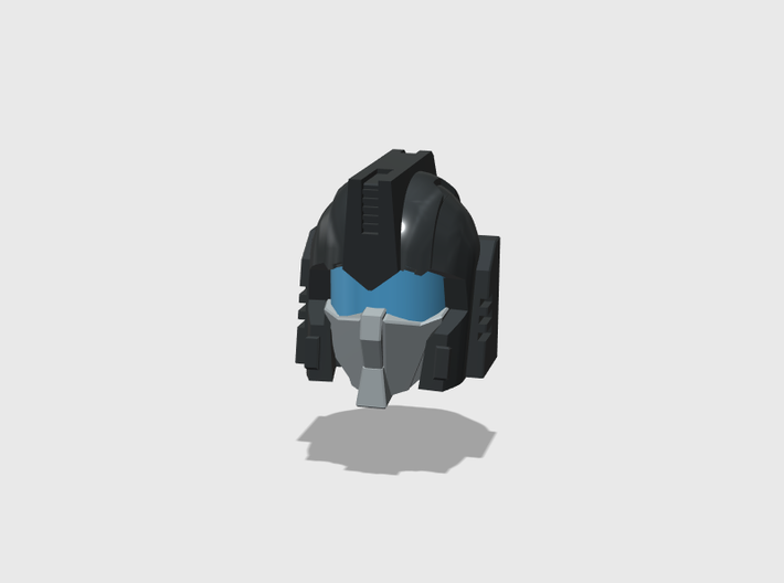"Cortex Head ""Rebirth""/MTMTE Combiner Version 3d printed"