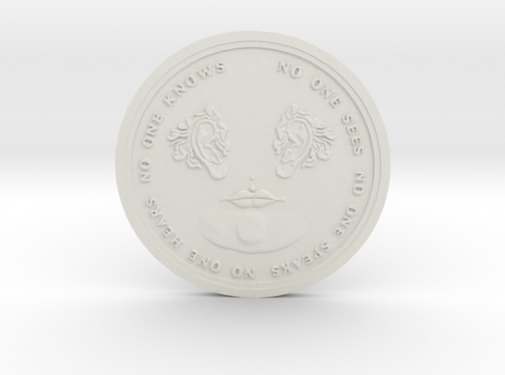 No One Coin 3d printed