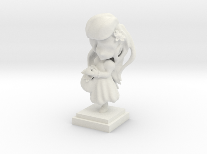 Flower Girl 3d printed