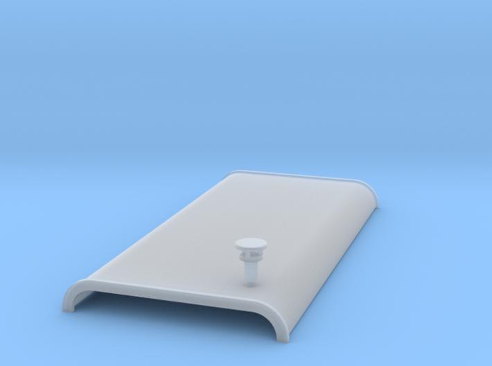 Dak HO-scale 3d printed