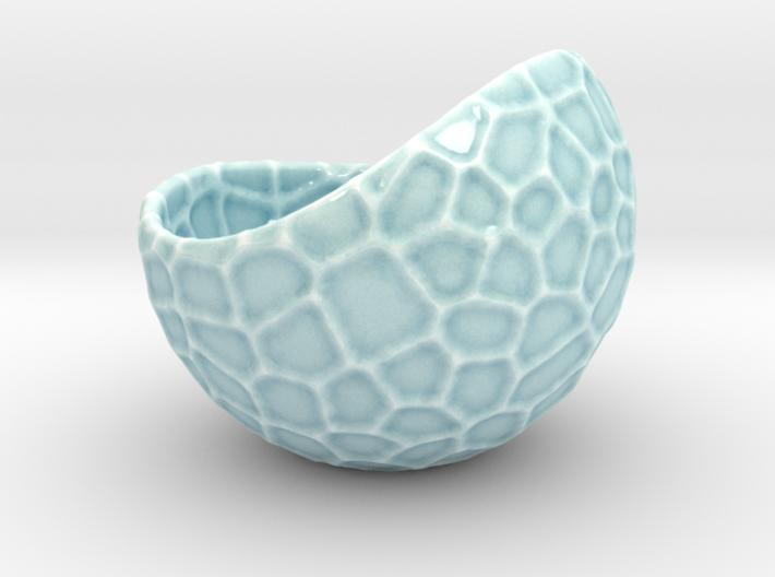 Porcelain plant pot #12 (size large, round) 3d printed