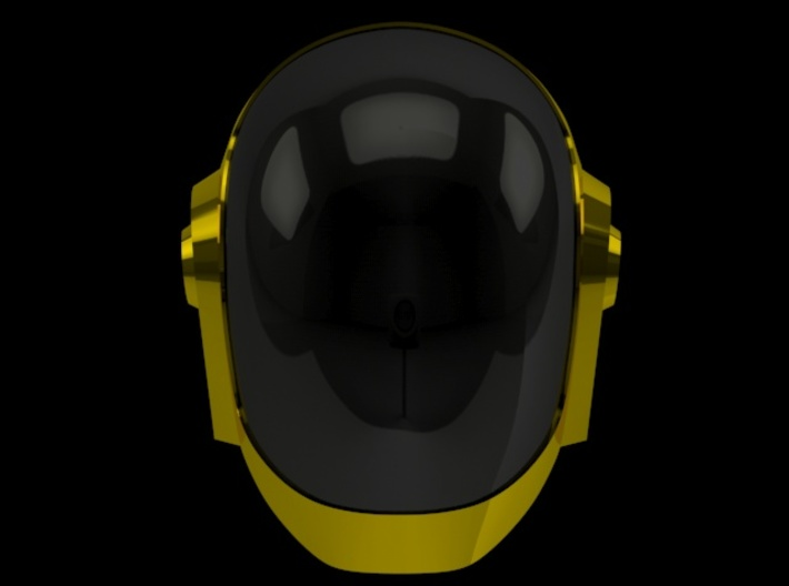 Daft Punk Guy helmet - 2mm wall 3d printed