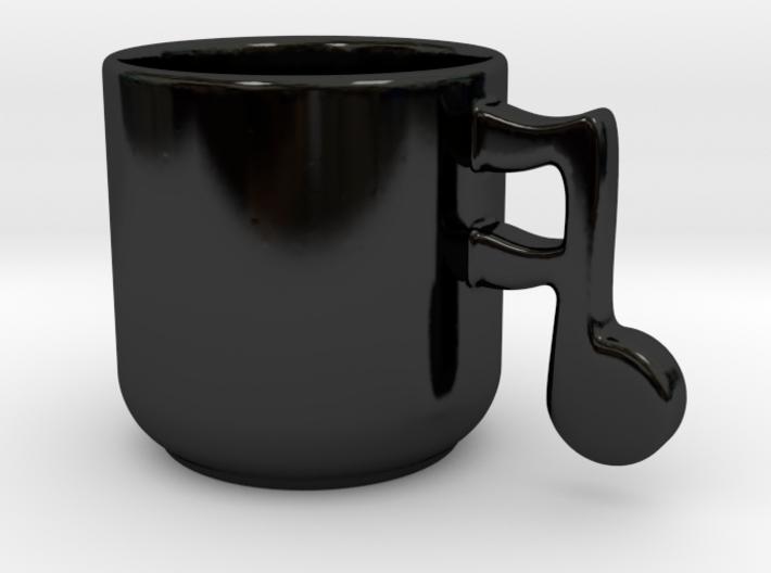 Music Note Mug 3d printed
