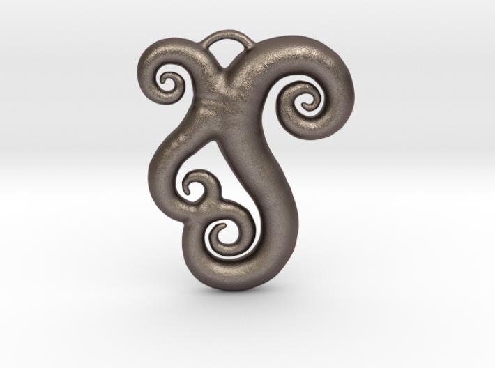 Sea Swirls 3d printed