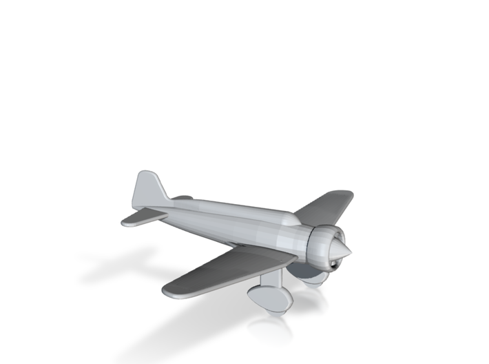 C5M Babs 1/200 scale Japanese recon aircraft 3d printed