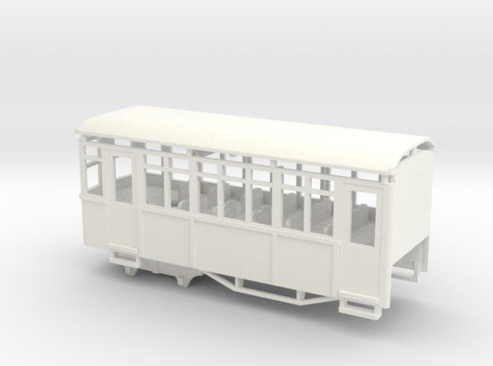 009 Sentinel Railcar Short Coach 3d printed