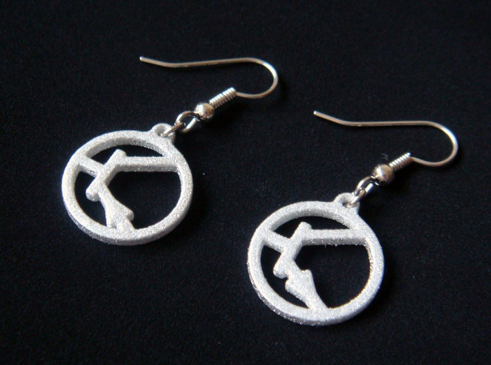 infinity sterling silver symbol earrings with at double meander culturetaste and hook
