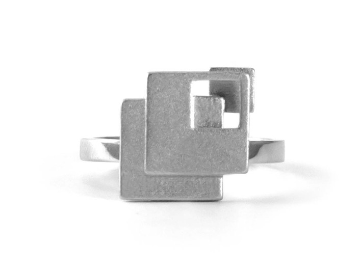 OPERA size M56 17.8 3d printed Opera - Premium Silver