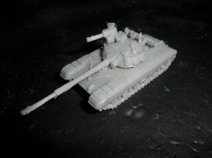 MG144-R17A2 T-64A (with skirt) 3d printed Replicator  prototype