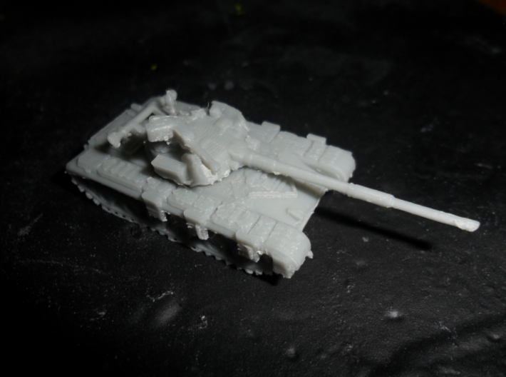 MG144-R17A T-64A (with gill armour) 3d printed Replicator 2 prototype