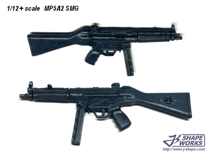 1/12+ MP5A2 SMG 3d printed