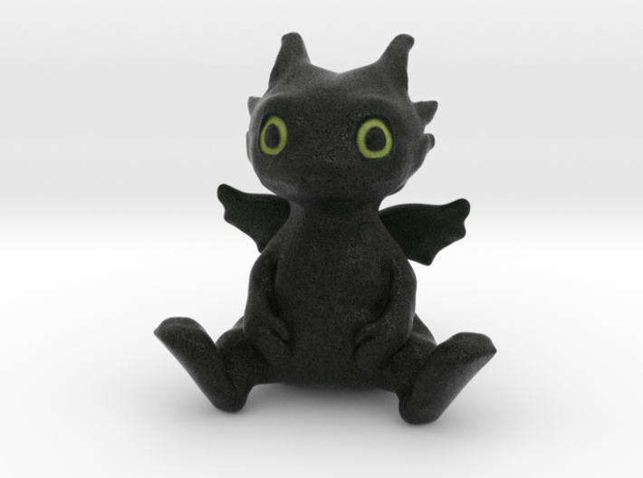toothless 3d printed