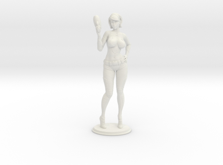 Spacegirl Lana - 54mm 3d printed