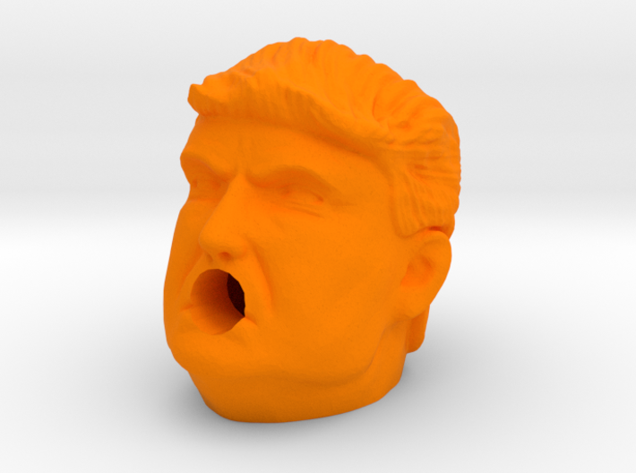 Trump Sharpener 3d printed